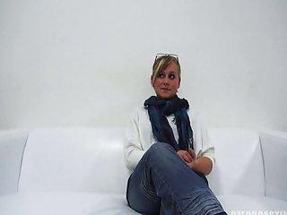 Czech casting Klara 18 year old girl