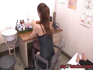 Kaera Uehara Naughty Japanese school teacher part5