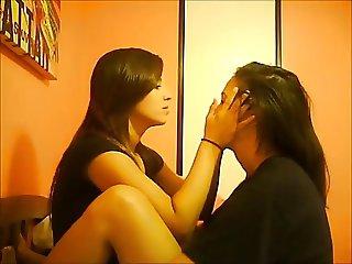 bedst lesbian kiss