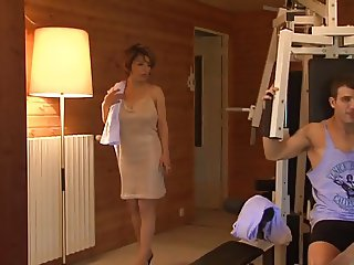 French Mere Salope se fait prendre par son gendre