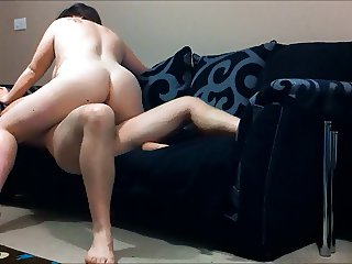 amateur bbw sofa fuck big tits pt2