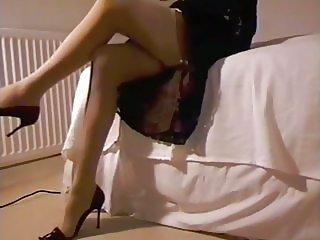 Lace Dress Satin Panties