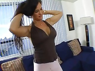 Angel Caliente gets fuck at the hotel room