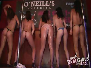 Amateur English Irish and Scottish drunk girls public nudity compilation