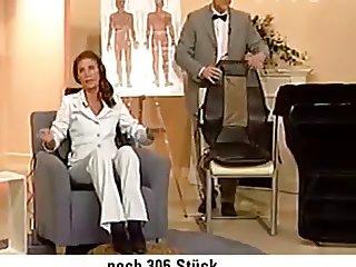 Live Orgasmus beim Teleshopping Massagesitz