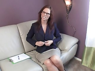 Jerk therapy session with a sext MILF JOI