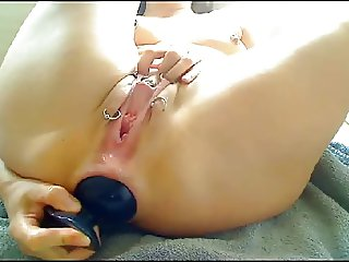 Crazy anal insertion