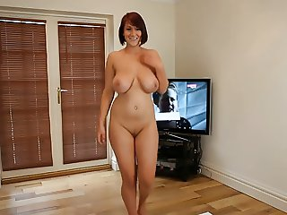 Dirty Dancing Nude Busty Brit Strip