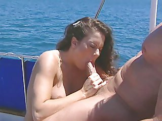 Peter and Jewel 039 s Hot Boat Sex with Huge Facial Finale