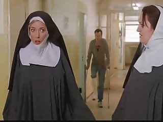 Nuns tied up and stripped by cops