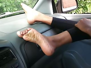 Indian foot fetish Sexy feet soles toes rubbing my cock