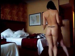 amateur couple fuck in hotel