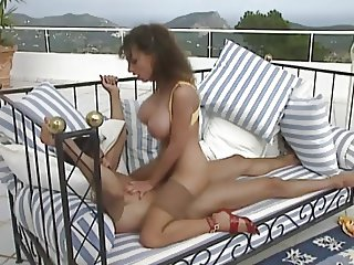 Sarah Young Classic Busty Babe Anal