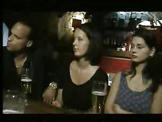 Italian Babes fucked in a Bar