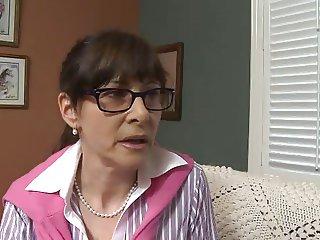 Mature Women Seduce and Fucks Teen Couple