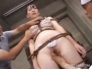 Groupsex with asian twat teased