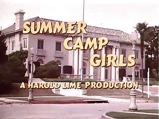 Vintage Summer Camp Girls