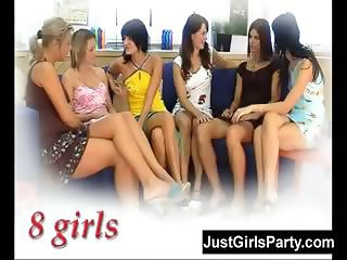 Girls only gang bang