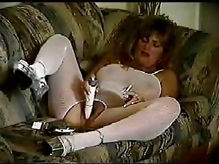 Vict. Smoking and Cumming Hard with Vibrator