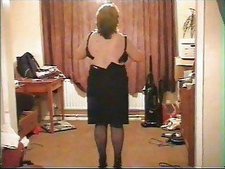 shy mature striptease 3
