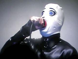 Diabolique666 Deep Throat gag with prolapsed anus film 004
