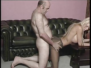 Cardiff girl in tights strips and fucked by olderman