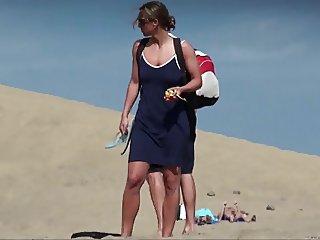 Nude Beach Dressing 3