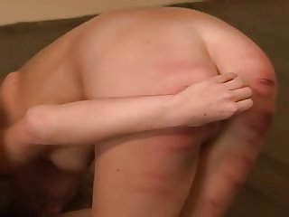 Two girl was beaten by whip
