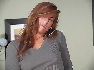Mia Presley Pantyhose Tease
