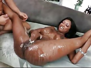 black woman squirt EVERYWHERE