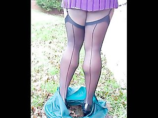 TGirl Skirt Dropped 316