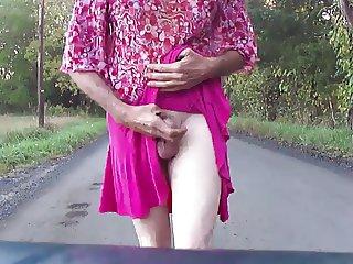 Cindy pink skirt