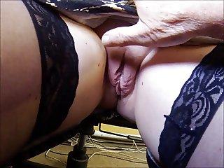 Upskirt Secretary Playtime