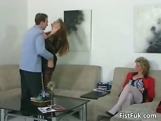 Rough threesome sex scene full part1