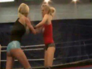 NudeFightClub presents Laura Crystal vs Michelle...