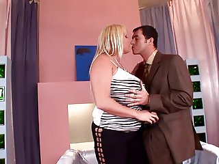Laura Orsolya and James Borssman