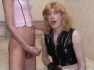 Best Tgirl Lesbian sex ever