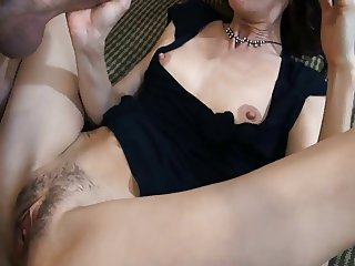 Frustrated slim MILF needs some cock