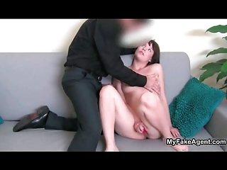 Horny boss talks an employee