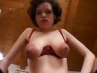 big tit preggy