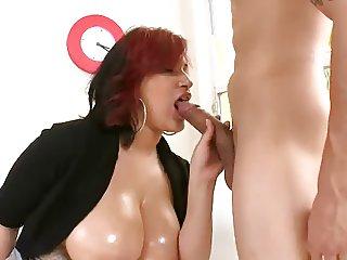 Natural Tits Redhead