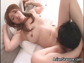 Sexy asian babe with great body sucks part5