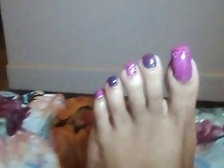 Desired Mistress Foot Flossing