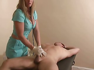 CFNM Severe prostate milking