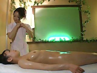Lesbian Massage YUI Censored