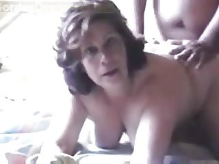 Busty Mature gets doggied 2