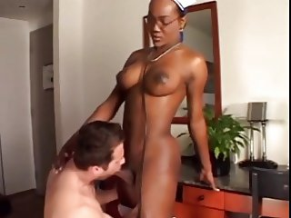 Busty Big Dicked Nurse Cures Patient docJock