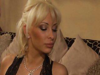 Banging a blonde