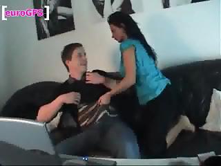 Homemade porn filmed by German couple