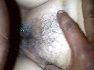 Fucking grizzled and hairy pussy of my wife of 63 years